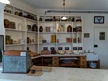 STANLEY, GRAFSCHAFT DURHAM/UK - 20. JANUAR: Innerhalb einer alten Bäckerei Stockfotos