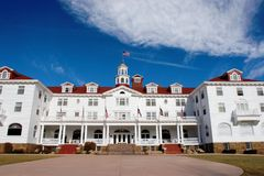 Stanley Hotel Enterance Royalty Free Stock Images