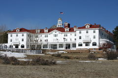 Stanley Hotel Royalty Free Stock Photography