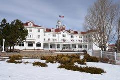 Stanley Hotel - Front Left Fotografía de archivo libre de regalías