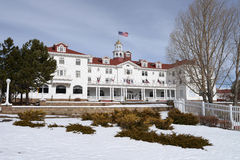 The Stanley Hotel - Front Left Royalty Free Stock Photography