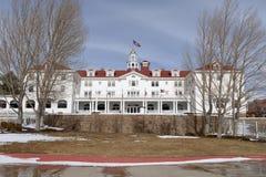 Stanley Hotel - Voorzijde Royalty-vrije Stock Foto's