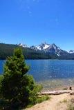 Stanley jezioro & Mt McGowan Fotografia Stock