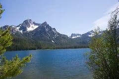Stanley Lake 1809 Fotografering för Bildbyråer