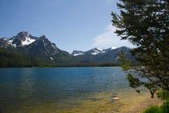Stanley Lake 1810 Arkivbild