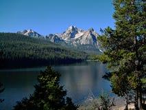 Stanley Lake No de gare Images stock