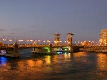Stanley most w Aleksandria Obrazy Stock