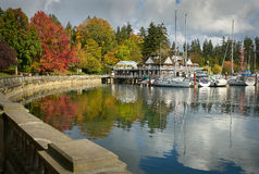 Stanley Park Autumn, Vancouver Royalty Free Stock Photography