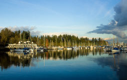 Stanley Park Boats imagens de stock royalty free
