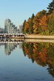 Stanley Park, Coal Harbor, Vancouver Royalty Free Stock Image