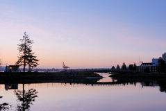Stanley park at dawn Stock Photos