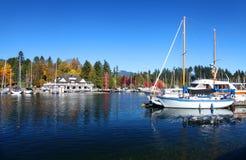 Stanley Park en Vancouver Imágenes de archivo libres de regalías