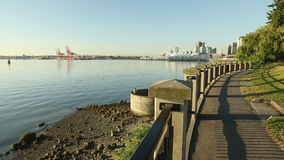Stanley Park Morning Vancouver Immagine Stock