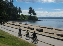 Stanley Park Vancouver Stock Image