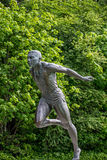 Stanley park Vancouver Canada harry jerome statue Royalty Free Stock Image