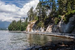 Stanley Park Vancouver Royalty Free Stock Photos