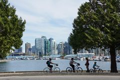 Stanley Park in Vancouver Royalty Free Stock Image