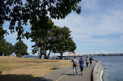 Stanley Park, Vancouver Royalty Free Stock Images