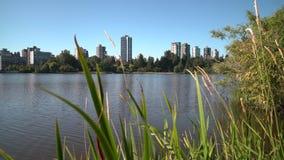 Stanley Park, verlorene Lagune, Vancouver 4K UHD stock footage