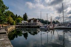 Stanley parka deptak w Vancouver zdjęcie stock