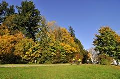 Stanley parkerar i hösten Arkivfoton
