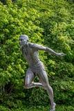 Stanley parkerar Vancouver Kanada harry den jerome statyn Royaltyfri Bild