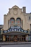 Stanley teatr, Utica, stan nowy jork, usa Zdjęcia Royalty Free