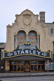 Stanley Theater, l'état d'Utica, New-York, Etats-Unis Photos libres de droits