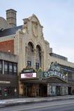 Stanley Theater, l'état d'Utica, New-York, Etats-Unis Images libres de droits