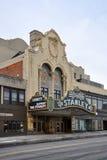 Stanley Theater, l'état d'Utica, New-York, Etats-Unis Photographie stock