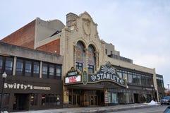 Stanley Theater, l'état d'Utica, New-York, Etats-Unis Images stock
