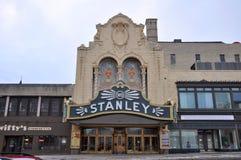Stanley Theater, Utica, de Staat van New York, de V.S. Royalty-vrije Stock Afbeelding