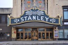 Stanley Theater, Utica, de Staat van New York, de V.S. Royalty-vrije Stock Foto