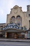 Stanley Theater, Utica, de Staat van New York, de V.S. Stock Fotografie