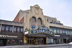 Stanley Theater, Utica, New York State, USA Stock Photos