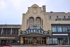 Stanley Theater, Utica, New York State, USA Royalty Free Stock Image