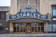 Stanley Theater, Utica, New York State, USA Royalty Free Stock Photo