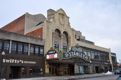 Stanley Theater, Utica, New York State, USA Stock Images
