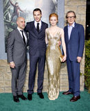 Stanley Tucci, Nicholas Hoult, Eleanor Tomlinson and Bill Nighy Stock Photography