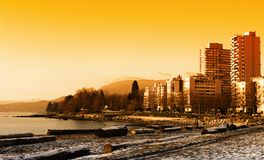 Stanley Vancouver park Zdjęcie Stock
