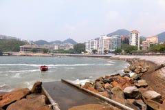 Stanley zatoka w Hong Kong wyspie Zdjęcie Royalty Free