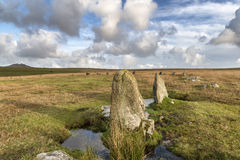 The Stannon Stone Circle Royalty Free Stock Image