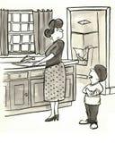 Stanowczy dziecko ilustracji