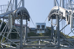 Stanserhorn cable car pillar Stock Image