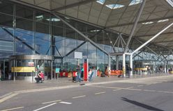Stansted airport royalty free stock photos