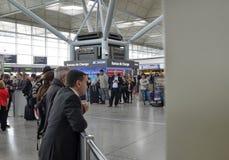 Stansted-Flughafen - Stansted Eil-London, Vereinigtes K?nigreich 14. Juni 2018 stockbild