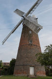 Stansted Mountfitchet Windmill. A tower mill in Essex, built in 1787. Now preserved and open to the public on certain days during the summer Royalty Free Stock Photography