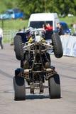 Stantman Igor Pereversev sur ATV mA Image stock