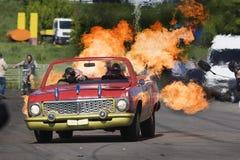 Stantman Vasiliy Stratov driving o Stock Image
