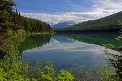 Stanton湖反射 库存图片